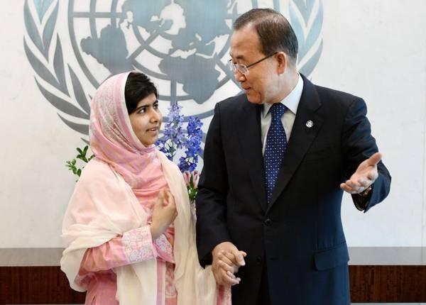 Discorso di Malala all'Onu
