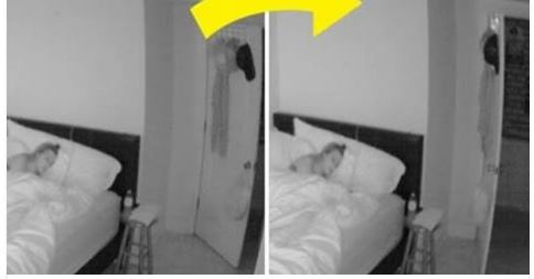 Fantasma in una camera da letto di una ragazza: Ecco quello che succede – VIDEO